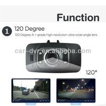 "New sale!! 4pcs ir lights 2.7""screen car camera dvr/hd drive video recorder"