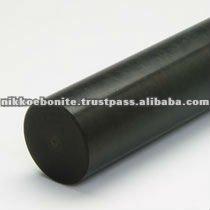 Ebonite Centerless Ground Rod in diameter 5mm High elec. insulation