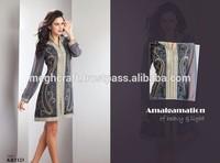 Wholesale Indian Beaded Tops-Fashion Designer Kurtis-Indian chiffon kurtis-Wholesale Bollywood fashion Georgette Kurtis