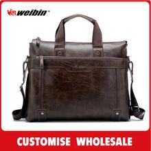 classical design high quality PU business briefcase A5