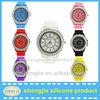2013 Cyrstal silicone jelly watch candy jelly watch