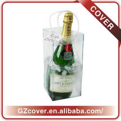 2013 high-end tote cooler portable one bottle wine bag