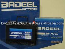 Badeel Maintenance Free BMF-N-70L