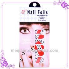 Fashion Stunning Glitter Nail Art 3D Stickers Decal