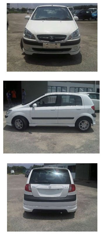 Hyundai Getz 2010 full Skirting