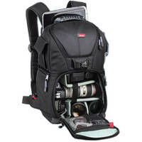 Vivitar DKS-25 Photo SLR Laptop Backpack camera bag Large