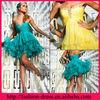 2013 Terrific Sweetheart Short/Mini Ruffles Skirt Empire Wasit Cocktail Dresses