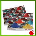 colorido cartão postal impressão