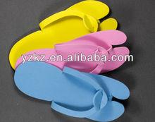 Colorful EVA flip flops slippers for sandy beach