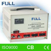 Good price SVC-1.0kva tree phase ac electrical servo voltage stabilizer