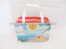 2014 non woven shopping bag with a small pouch