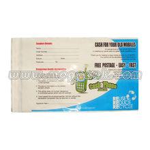 Plastic LDPE Permanent Adhesive Postal Mail Bag