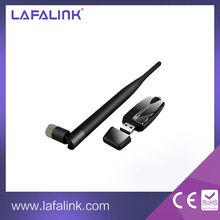 LAFALINK realtek RTL8191SU 300Mbps High Gain Wireless USB Adapter, 802.11b/g/n WiFi USB Wireless Network Card with 6dBi Antenna