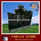 shanxi black cross granite monument canada headstone
