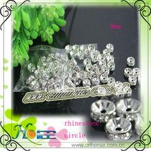 fashion decorative rhinestone circle for jewelry DIY