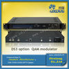 Digital TV Broadcasting Equipment MPEG2 QAM Modulator