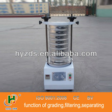 HY 200mm diameter standard square mesh soil test sieve for particle size analysis