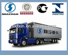 buying shaanxi shacman 6x4 truck trailer