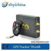 google map gps car tracker tracking TK-106B Latitude / longitude geo locating GSM/ GPRS/ GPS based