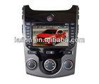 Kia New forte/koup/shuma/cerato radio audio del coche de 8 pulgadas con Ipod bluetooth