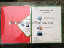 newest design ABS plastic protective case cover for ipad, for ipad case, new ipad case