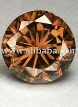 loose redish-brown diamond lot