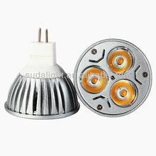 Dichroic MR16 led spotlight 3*1W
