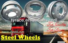 truck steel wheel 6.75*17.5 with DOT ISO TS16949 certificates