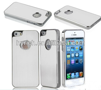 accessories for mobile phone,aluminum cell phone cover for iphone 5s