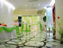 IDA latest fancy design organza elegant ready made drapes and curtains for event wedding Chrismas decoration