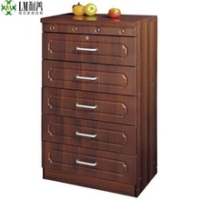 Wooden pvc cheap drawer chest 500600