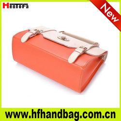 2013 New fashion bags ladies handbags, innovative design with metal parts