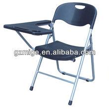 Black Strong Folding Plastic School Chair