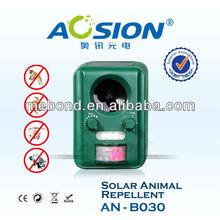 garden ultrasonic solar animal dog reject