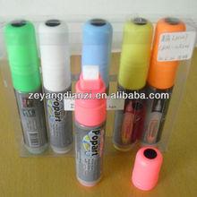 New Innovative Syringe Non-porous Marker Pen Highlighters