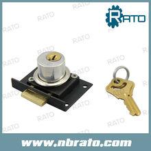 R62 Copper Cylinder Desk Drawer Lock