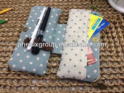 Fabric 2-layer pencil case