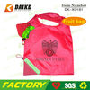 High Quality Eco Strawberry 2012 Designer Clear Tote Bags DK-XO181