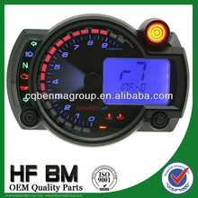 Factory directly wholesale motorcycle lcd digital meter ,high quality motorcycle lcd digital meter universal style !