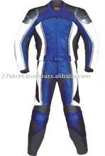 2 Piece Leather Suit for Racing Biker