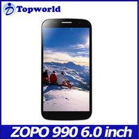 Newest zopo zp990 6inch smart phone mtk6589T 1.5GHZ 1G/32G 2G/32G