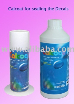 Protective coating for decal papers