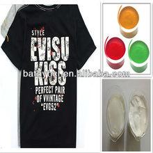 paste/ink for men's t-shirt screen printing