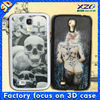 Hot selling 3D samsung phone case for galaxy s4