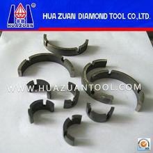diamond core drill bit segment for drilling stones