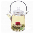 Meyve lezzet gomphrena globosa' nın çiçeklenme çay Yasemin kokulu