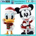 Promotionnel en plastique cartoon danser souris et canard jouet / jouet en plastique pour le jour de noël