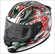 ABS flip up motorbike racing helmet