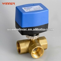 220VAC 3-way water valve,electric motor operated valve,electric flow control valve