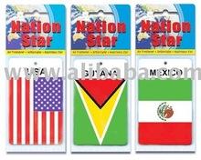 flag paper Air Freshener